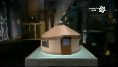 ساخت خیمه کروی شکل Yurts