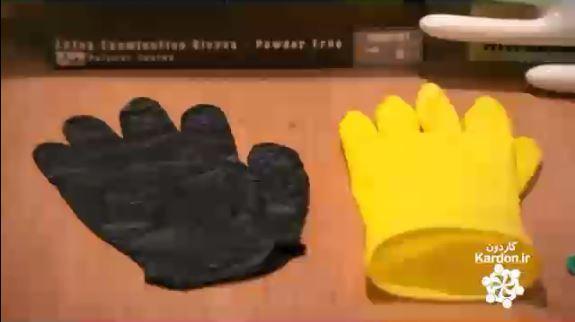 دستکش لاستیکی Rubber Gloves