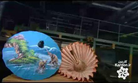 ساخت چتر کاغذی Paper Umbrellas