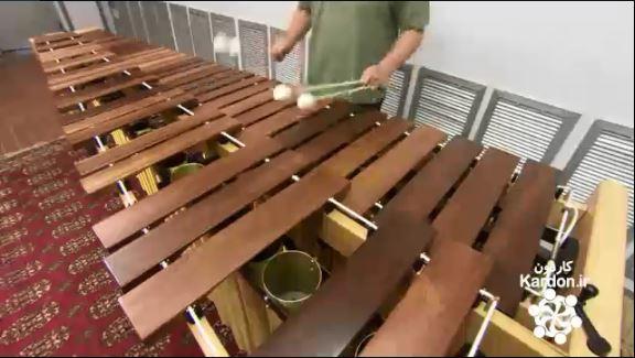 ساخت سنتور چوبی آفریقایی Marimbas