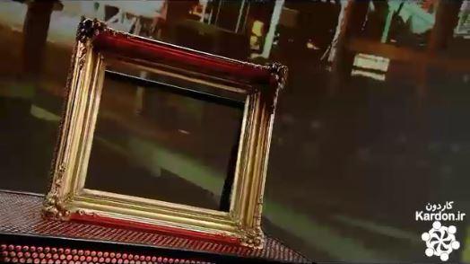 ساخت قاب عکس های قدیمی antique frame restoration