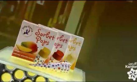 کارخانه ابمیوه پاکتی sorbet pops