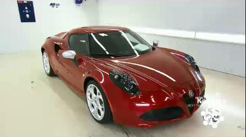 کارخانه تولید خودرو آلفا رومئو 4 سی Alfa Romeo 4C