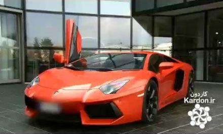کارخانه تولید لامبورگینی آونتادور Lamborghini Aventador