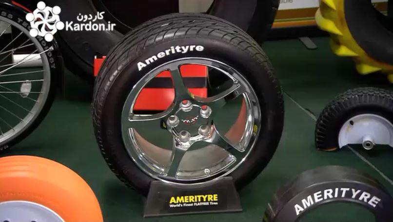 تولید لاستیک پلی اورتان Polyurethane Tires