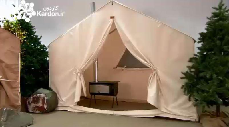 چادر مسافرتیCanvas Wall Tents
