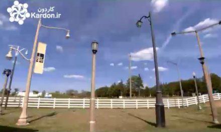 تولید بتن تیرهای چراغ برق Concrete Light Poles