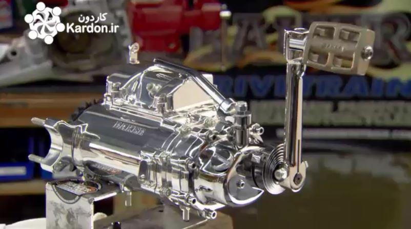ساخت موتور سیکلت دست ساز Manual Motorcycle Transmissions