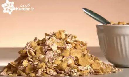 تولید غلات و حبوبات Frosted Cereal