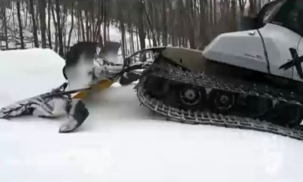 ساخت ماشین برف روsnow groomers