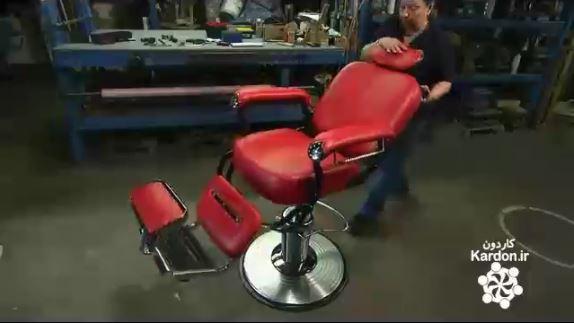 ساخت صندلی آرایشگر ها Barber Chairs