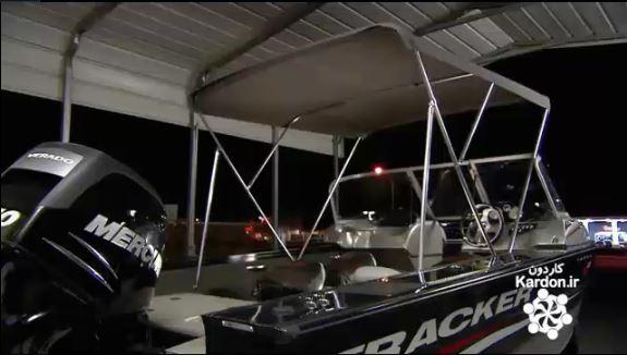ساخت سقف قایق بادی بیمینی Bimini Boat Tops