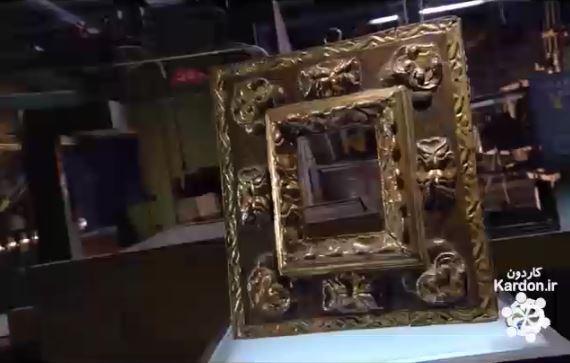 ساخت قاب های عتیقه Antique Frame Replicas