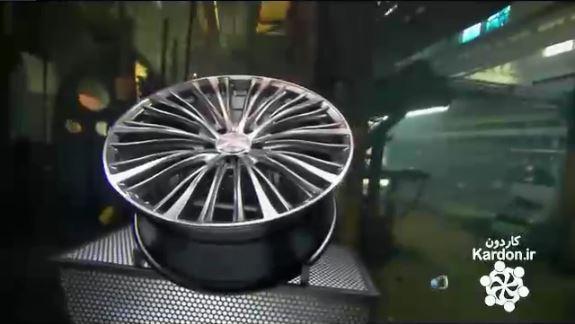 کارخانه رینگ چرخ ماشین Alloy Wheels