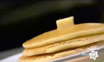 پن کیک های یخ زده Frozen Pancakes