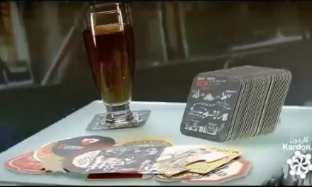 ساخت زیرلیوانی beer coasters and forged