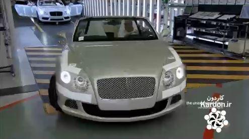 کارخانه تولید خودرو بنتلی کانتیننتال جی تی Bentley Continental GT Speed
