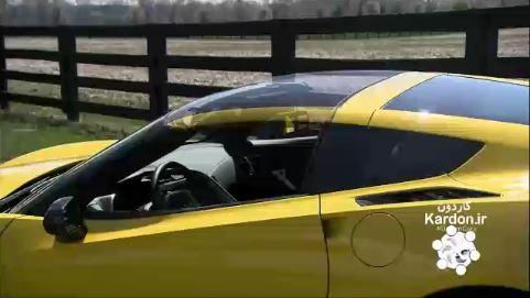 کارخانه تولید خودرو شورولت کوروت chevrolet corvette