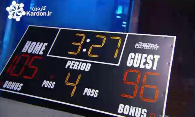 تابلوهای امتیاز مسابقه Scoreboards