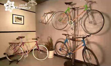 تولید دوچرخه بامبو Bamboo Bicycles